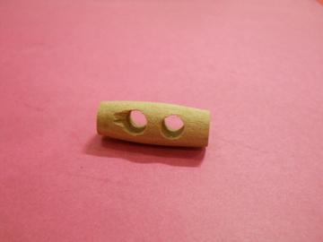 Wooden Toggles With Two Hole