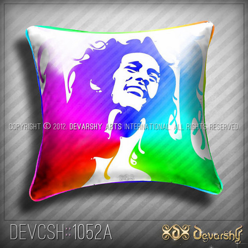 BOB MARLEY Cushion Cover. Pop ART !