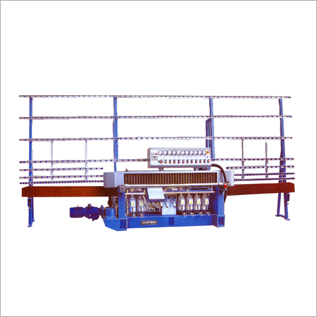 9 Spindle Glass Straight Line Edging Machine