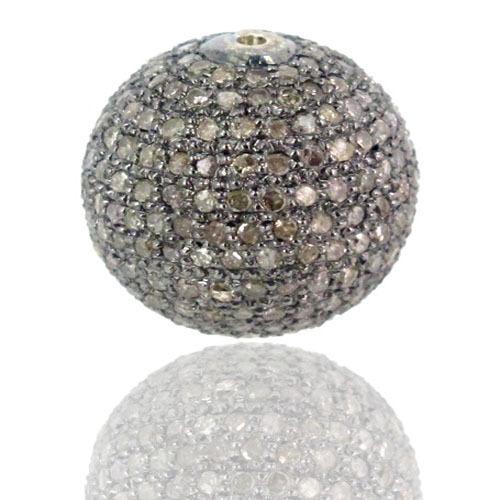 Diamond Pave Ball Findings