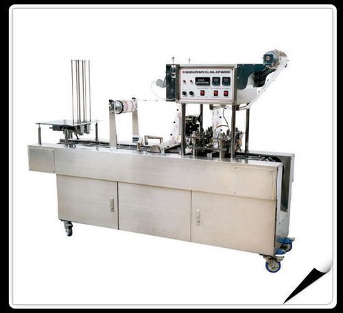 Automatic Cup Filling And Sealing Machine without dispensing (SPS38)