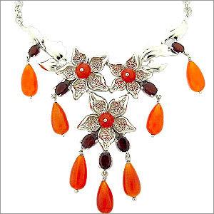 Silver Designer Necklace Manufacturer