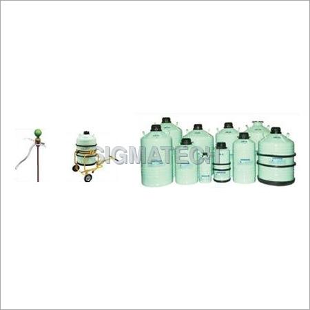 Liquid Nitrogen Semen Storage Container
