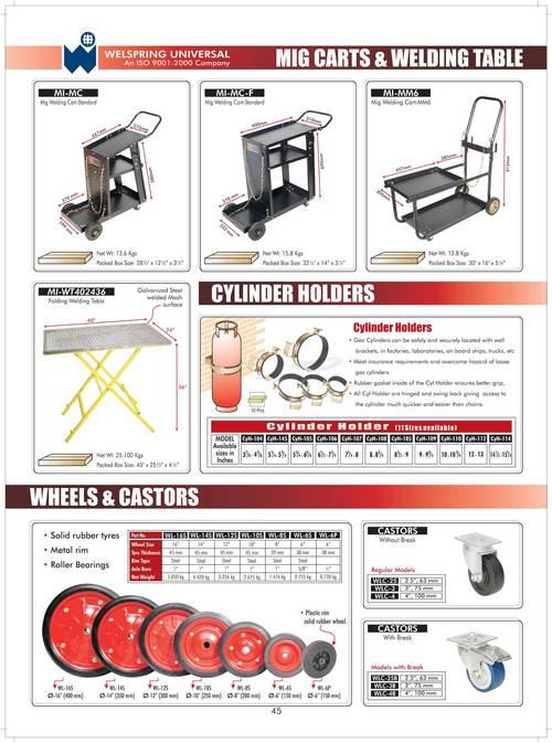 MIG Cart & Welding Table
