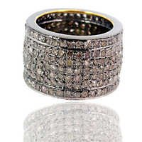 Pave Diamond Ring Jewelry