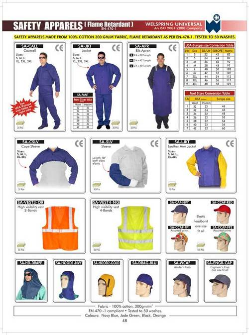 Safety Apparels