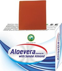Aloevera with Sandal Almond Soap
