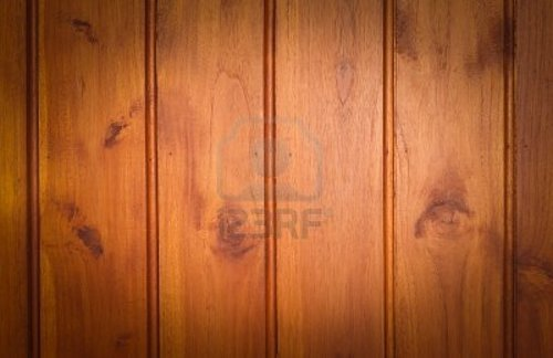 Teak Wood Paneling