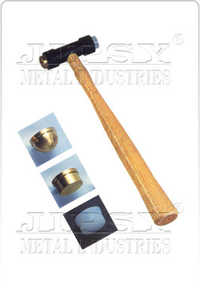 Brass Hammer One Side Brass One Side Plastic