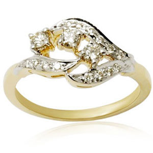 Lovely Diamond Gold Jewelry