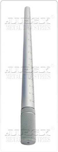 1 To 15 Aluminium Ring Stick  Blue & Silver