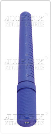 4 To 10 Aluminium Ring Stick  Blue & Silver