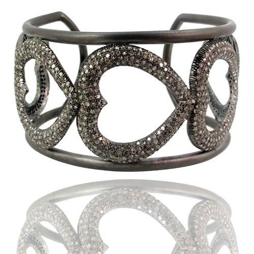 Cuff Bracelet Diamond Jewelry