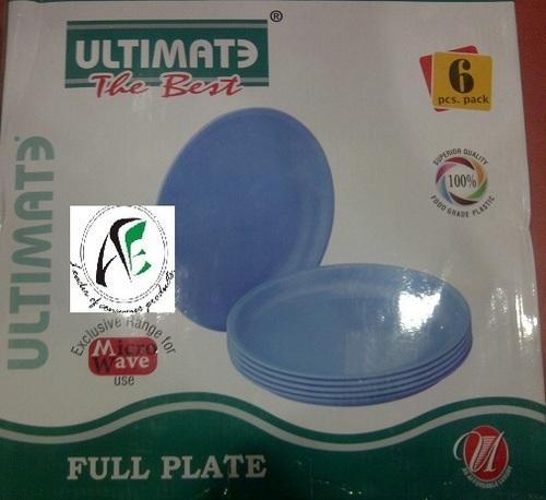 6 Pcs Ultimate Full Plate Set