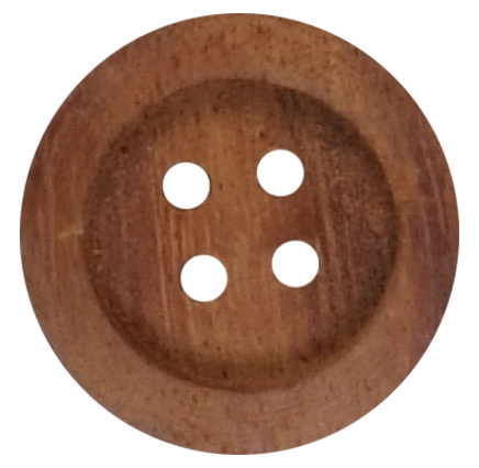 Designer Wooden  C Button