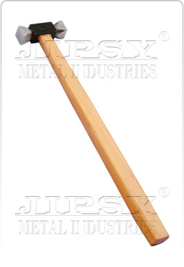 Square Hammer With Handle Black