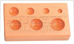 Wood Dapping Block7 KVTRound Shape