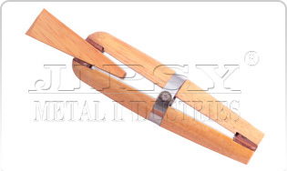 Wooden Ring Clamp With Wedge