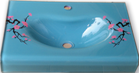 High Quality Tempered Glass Basins