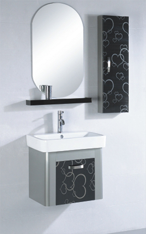 Stainless Steel (304,201) Cabinet With Ceramic Cou