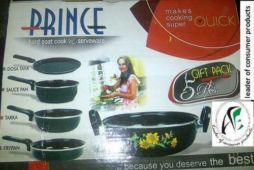 Prince hard coat cookware 5 pc set