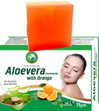 Aloevera Orange Soap