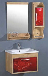 Wood (Oak)+PVC Cabinet