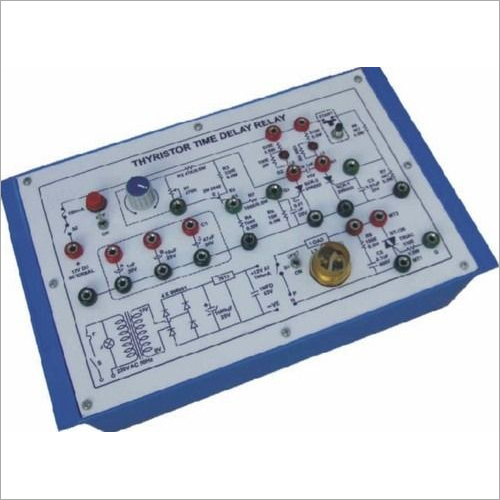 Thyristor Time Delay Relay