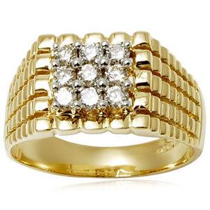 Designer Engagement ring for men