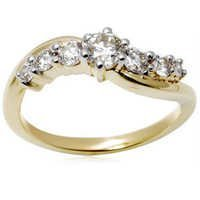Beautifully Designed Girlish Diamond Ring