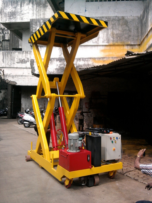 Movable Hydraulic Scissor Lift