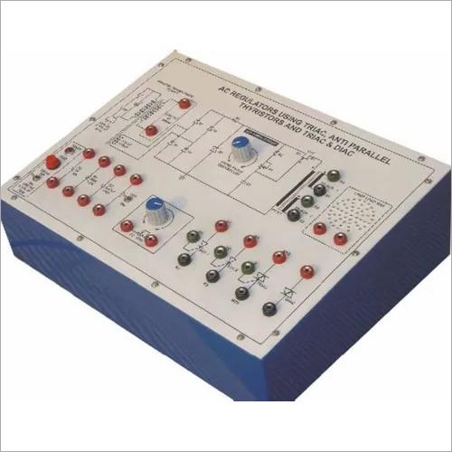 AC Regulators Using Triac, Anti Parallel Thyristor and Triac & Diac