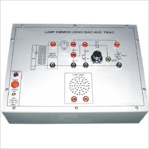 Lamp Dimmer Using Diac and Triac
