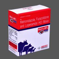 Metronidazole Furazolidone Loperamide Bolus