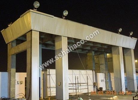 Pre-Engineered Steel Gate