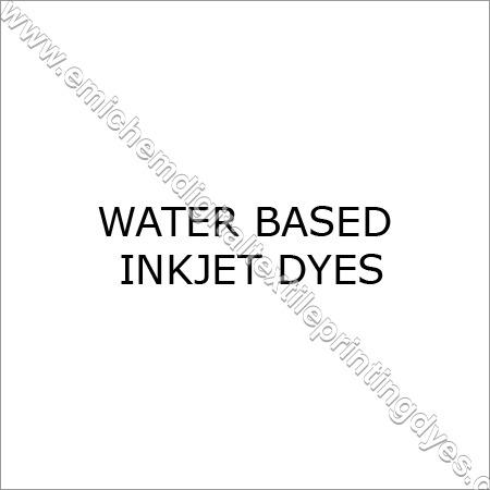 Water Based Inkjet Dyes
