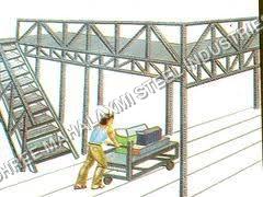 Bulk Storage Mezzanine Floor
