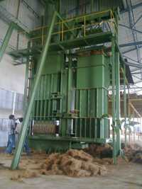 High Capacity Coir Baling Press