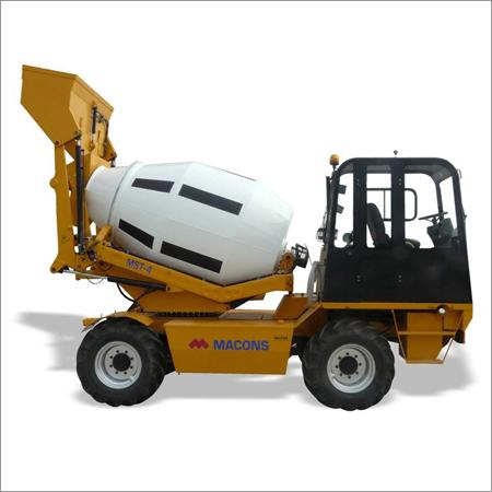 Self Loading Mobile Concrete Mixers