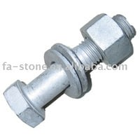 Hot Galvanized Nut Bolts