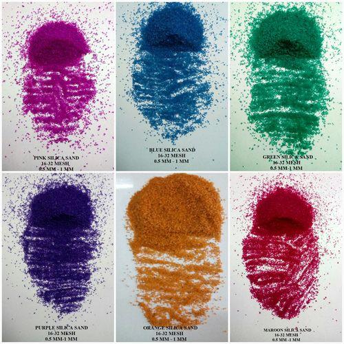 Colored Silica Art Sand / Coated Sand