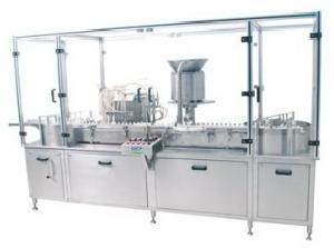 Eight Needle Vial Filling Machine