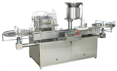 Four Syringe Vial Filling Machine