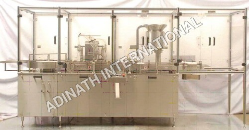 Aseptic Vial Filler Capper