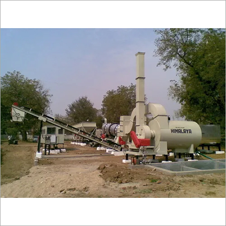 Drum Mix Plant With Air Pollution