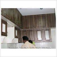 High Storage Modular Kitchen