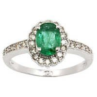 Emerald Ring Costume Jewellery
