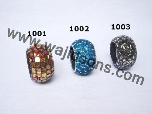 Aluminium napkin rings