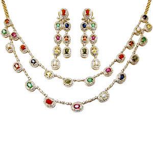 diamond emerald jewelry set, ruby and emerald jewelry, ruby and emerald jewelry