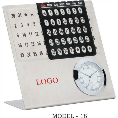 Corporate Table Calender Clock